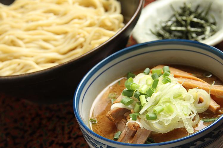 麺処-田楽つけ麺醤油ラーメン